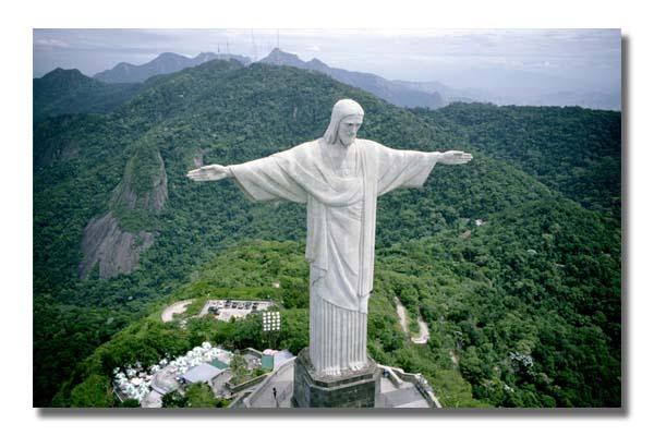 CL0099 brazil christ redeemer